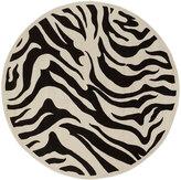 Horchow Modern Zebra Rug