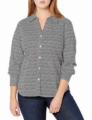 Pappagallo Women's The Britten Button Front Top