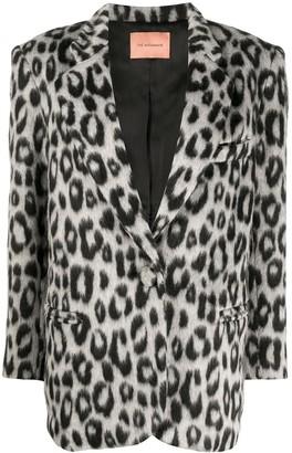 Andamane Leopard Print Blazer