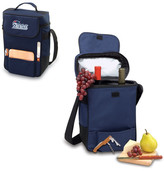 Picnic Time Duet Wine & Cheese Tote - New England Patriots Digital Print - Navy