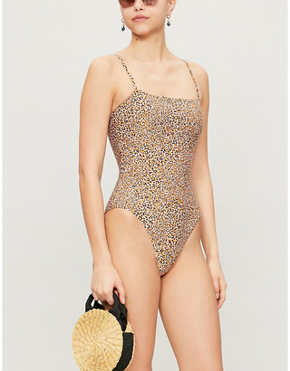 Seafolly Spirit leopard-print swimsuit
