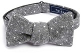 The Tie Bar Men's Knotted Dots Silk Bow Tie