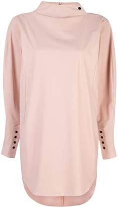 Toga funnel neck tunic top
