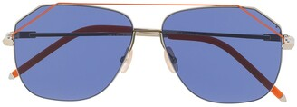 Fendi Eyewear Square Frame Sunglasses