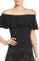 Eliza J Women's Ruffle Top