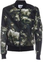 MSGM Cloud Print Bomber Jacket
