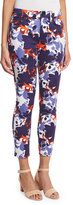 7 For All Mankind Floral Shadows Cropped Skinny Pants