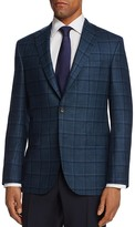 Jack Victor Multi Textured Window Classic Fit Sport Coat