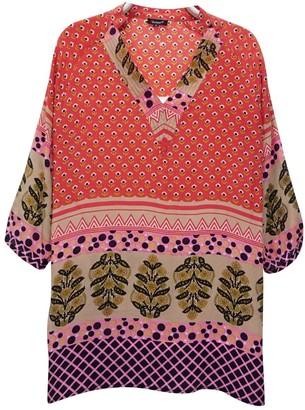 Tolani Multicolour Silk Dress for Women