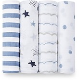 Aden And Anais Aden and Anais Infant Boys' Swaddle, 4 Pack