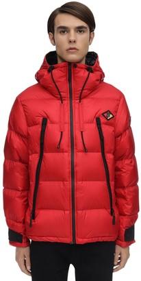 Burberry Hooded Nylon Down Jacket