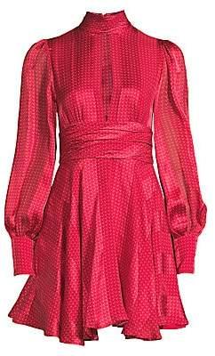 Alexis Women's Hadiza Printed Keyhole Fit-&-Flare Dress