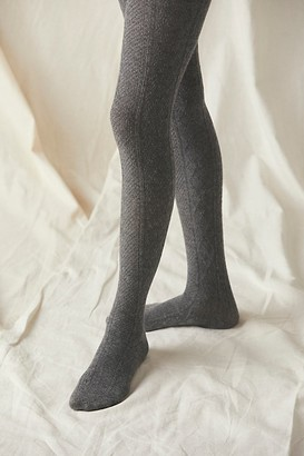 Free People Love Story Cable Sweater Tights