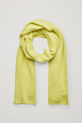 Cos Knitted Cashmere Scarf