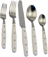 Gingko International Lyon 20-pc. Ivory Flatware Set