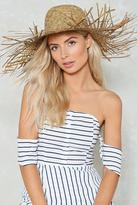 Nasty Gal nastygal Basket Case Straw Hat