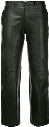 Junya Watanabe Comme Des Garçons Pre Owned Cropped Trousers