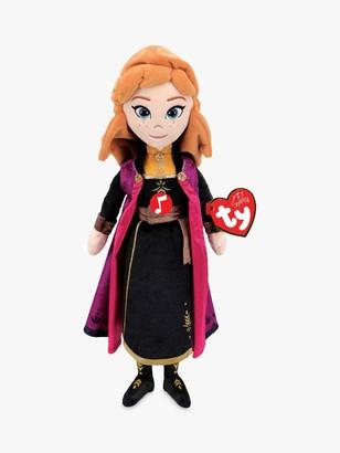 Ty Disney Frozen II Princess Anna Soft Toy