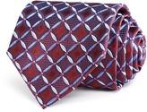 Armani Collezioni Geometric Print Classic Tie