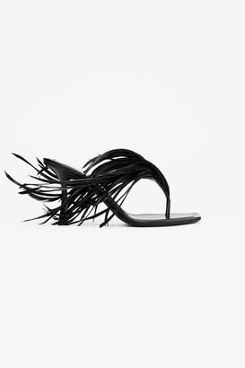Alexander Wang Ivy Feather Sandal