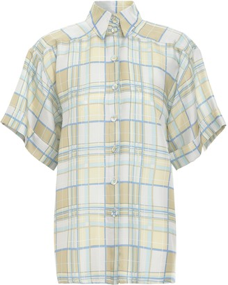 Zimmermann Super Eight Pyjama Style Shirt