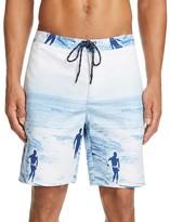 Surfside Supply Surfer Print Board Shorts