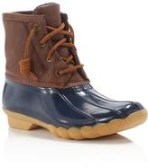 Sperry Boys' Saltwater Duck Waterproof Rain Boots
