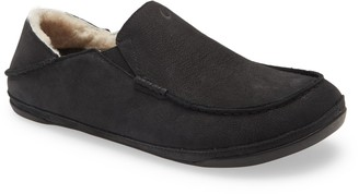 OluKai Kipuka Hulu Convertible Genuine Shearling Lined Slipper
