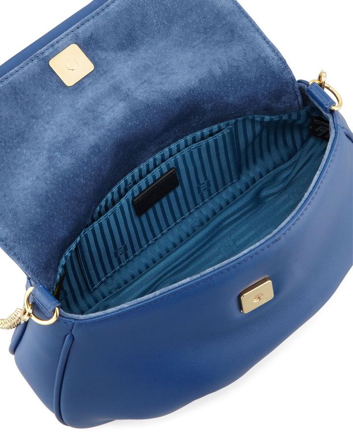 Fendi Fendista Pochette Crossbody Bag, Royal