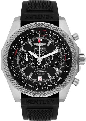 Breitling Black Titanium Bentley Super Sports E27365 Men's Wristwatch 49 MM