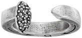 Giles & Brother Railroad Spike Ring w/ Pave