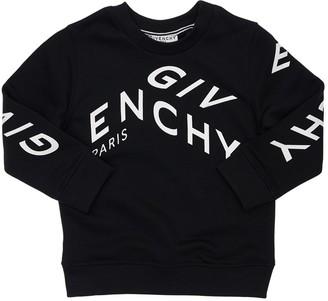 Givenchy Logo Print Cotton Blend Sweatshirt
