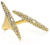 Alexis Bittar Crystal Spear Ring