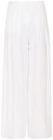 Emporio Armani Pleat Wide Leg Pants