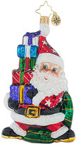 Christopher Radko Santa Balancing Act Ornament, Created for Macy's