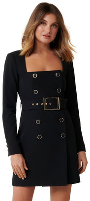 Forever New Brooklyn Buckle Blazer Dress