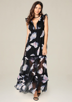 Bebe Meredith Tiered Gown