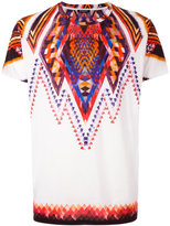 Balmain folkloric print T-Shirt - men - Cotton - S
