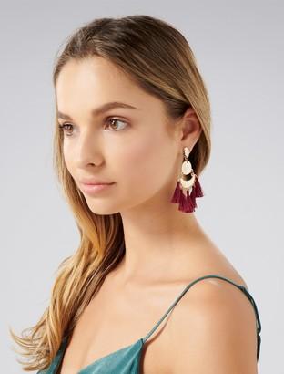 Ever New Theo Chandelier Tassel Earrings