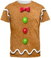Old Glory Gingerbread Man Costume All Over Adult T-Shirt