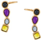 Goossens mini cabochons ear climber earrings