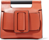 Boyy Romeo Small Buckled Leather Clutch - Camel