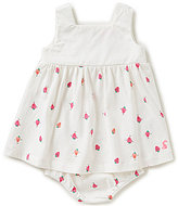 Joules Baby Girls Newborn-12 Months Camille Strawberry-Print Sleeveless Dress & Diaper Cover Set