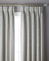 "6009 Parker 3-Fold Pinch Pleat Trellis Curtain, 120"""