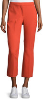 Theory Erstina Pioneer Cropped Pants, Paprika