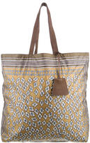 Burberry Geometric Printed Nylon Bag