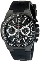 Swiss Legend Men's 14086SM-BB-01-SA Opus Analog Display Swiss Quartz Black Watch