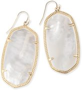 Kendra Scott Danielle Earrings in Ivory Pearl