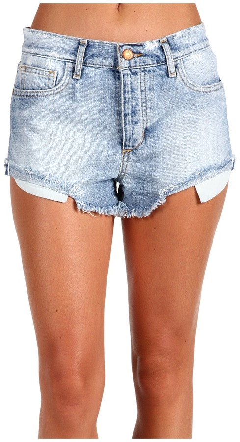 Joe's Jeans High Rise Cut-Off Short in Elise (Elise) - Apparel