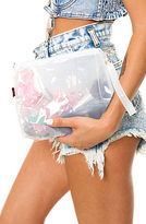 *MKL Accessories The Zip Lock Clear Clutch